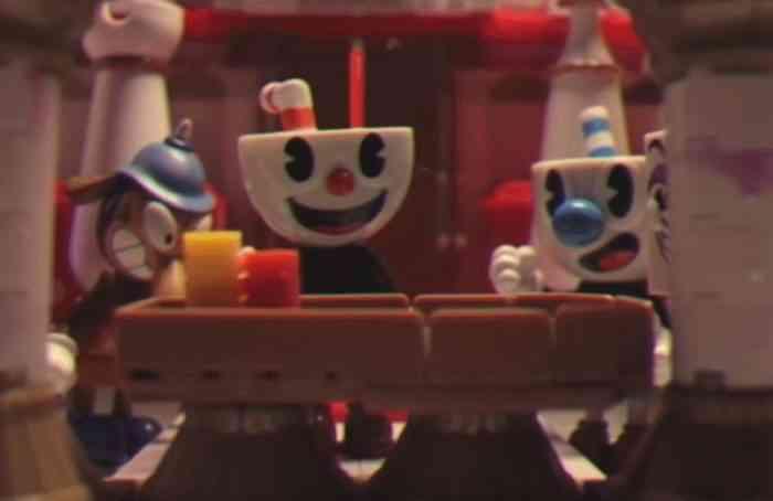 Cuphead stop-motion animation