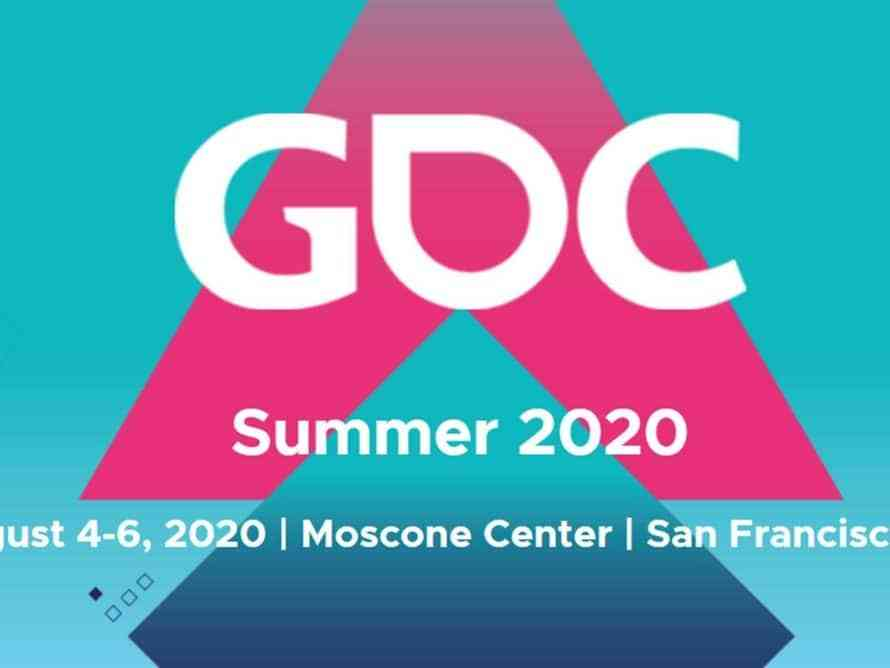 GDC 2020 Happening in August After Being Postponed | COGconnected