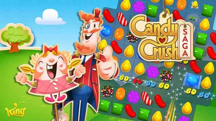 Candy Crush ad