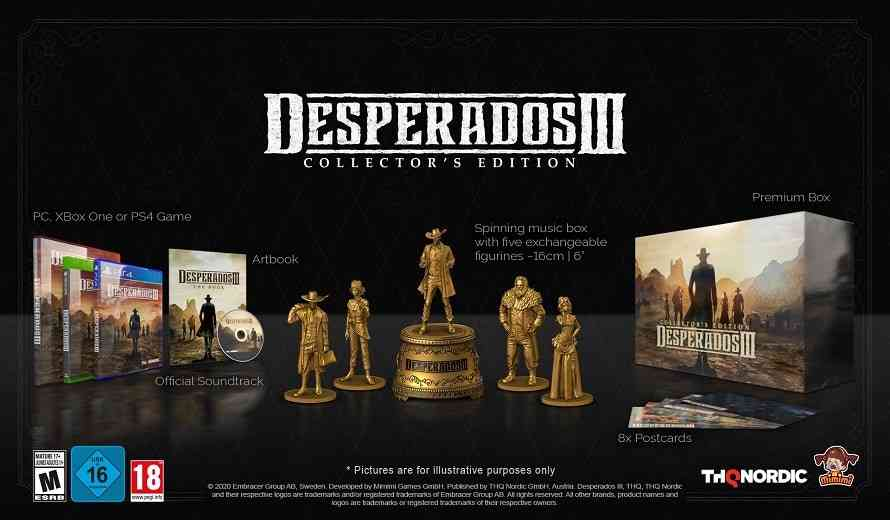 This Desperados Iii Collector S Edition Is Pretty Awesome