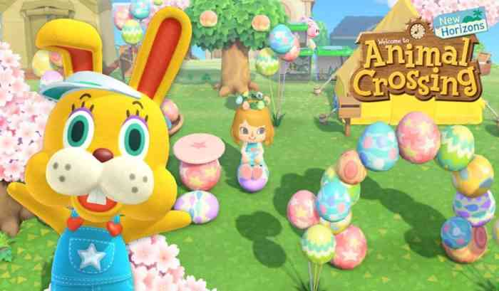 Animal Crossing Bunny Day promo art