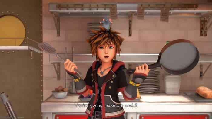 Kingdom Hearts 3 food