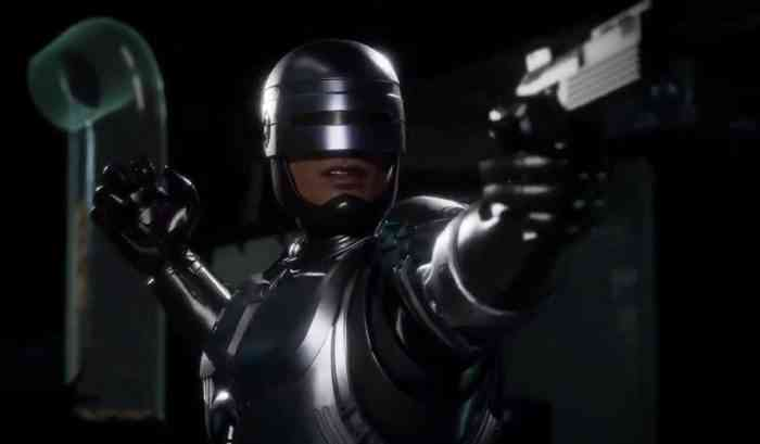 Mortal Kombat 11 RoboCop Trailer