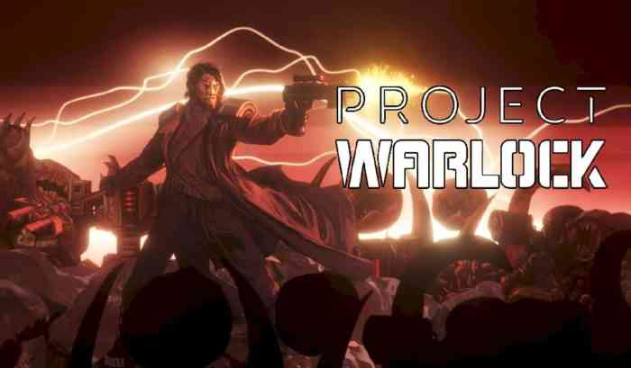 Player character in Project Warlock