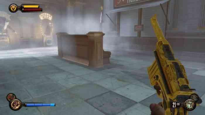 bioshock gold pistol