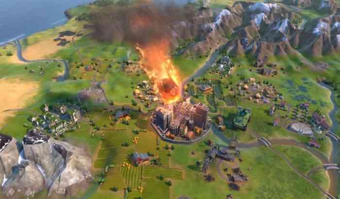 civilization 6 new frontier meteor