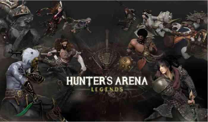 Hunter's Arena: Legends logo