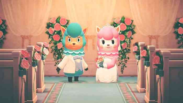 Animal Crossing Wedding Season