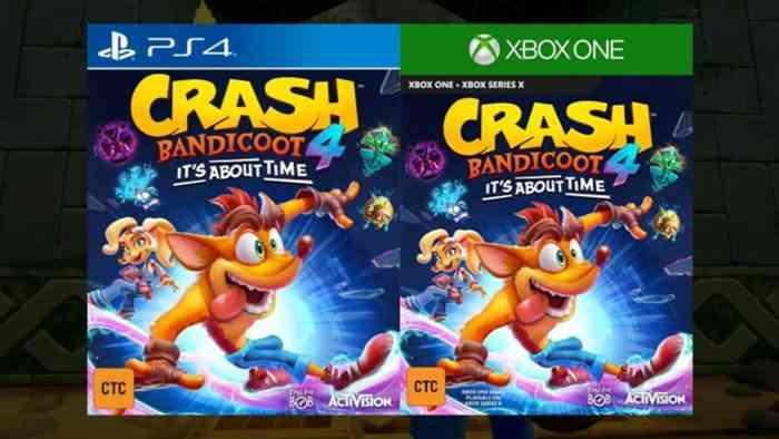 Crqash bandicoot 4 it's about time