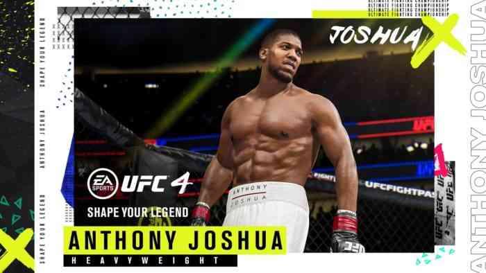 Anthony Joshua UFC 4