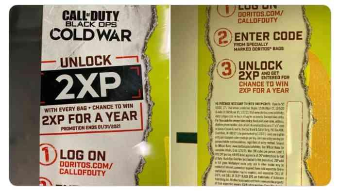 Doritos Bag Reveals Name Of Next Call Of Duty Cogconnected