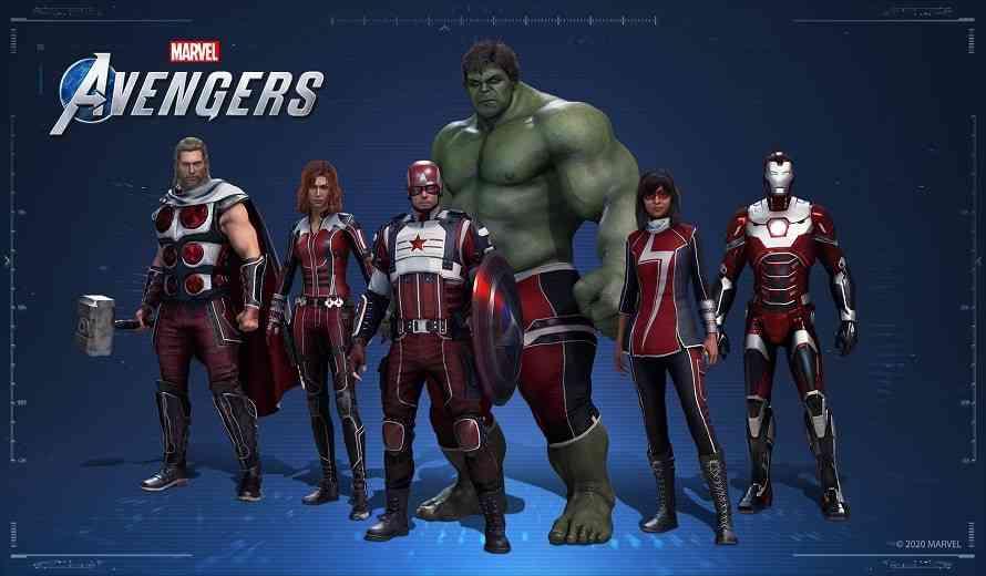 Marvel's Avengers Content