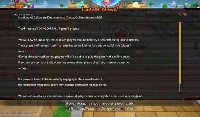 Dragon Ball FighterZ Rage Quit