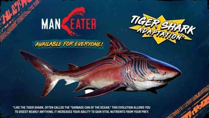 Maneater Tiger Shark
