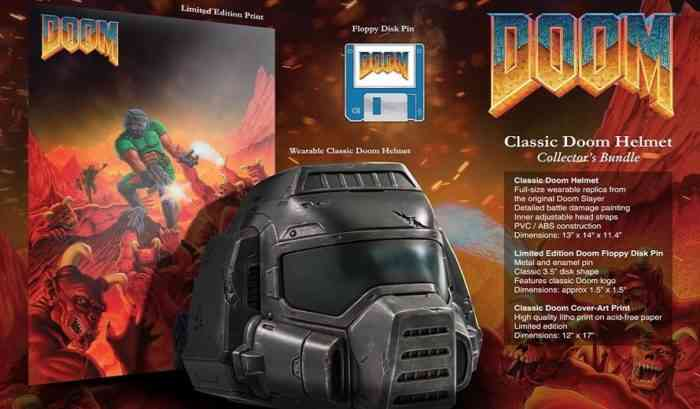 Doom Helmet Collector's Bundle