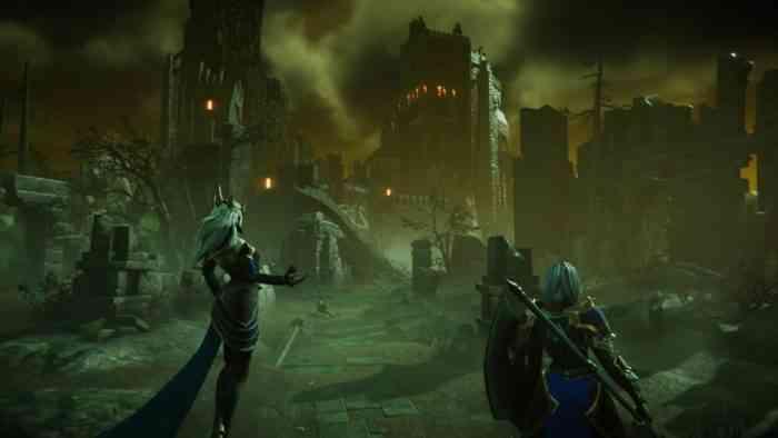 Immortal Realms Vampire Wars cutscene