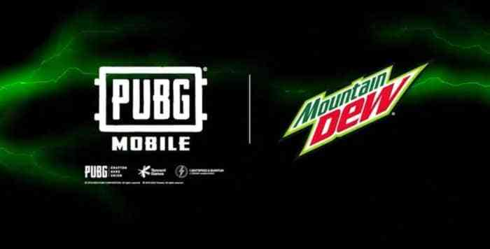 PUBG Mobile Teams up With Mountain Dew