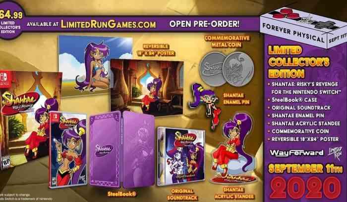 Shantae Collector's Edition