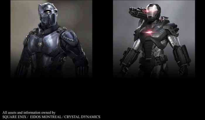 Black Panther and War Machine