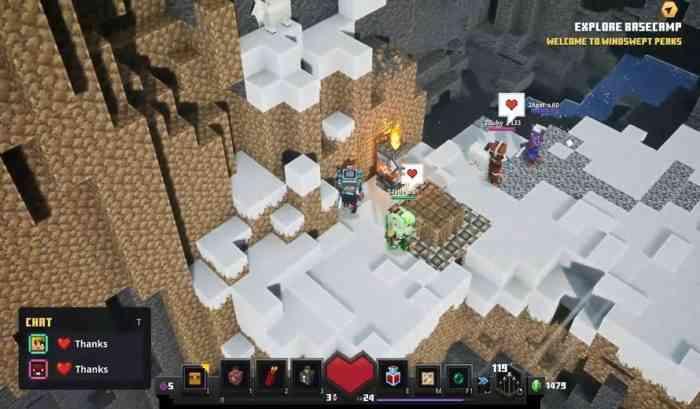 Minecraft Dungeons DLC Howling Peaks