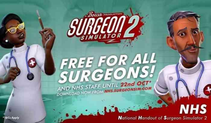NHS Surgeon Simulator 2