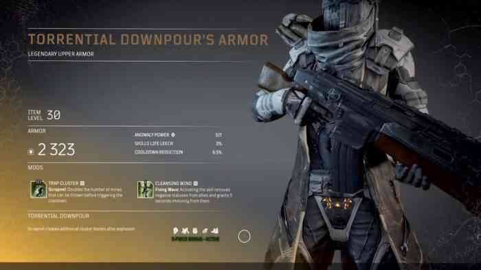 Outriders armor