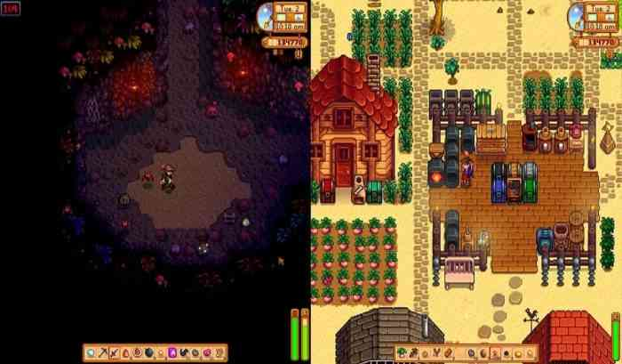 Stardew Valley Splitscreen