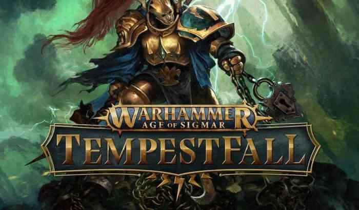 Key art from Warhammer Age of Sigmar: Tempestfall