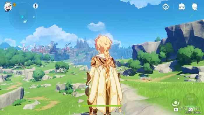 Genshin Impact Aether screenshot