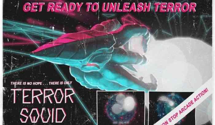 Retro-style Terror Squid ad