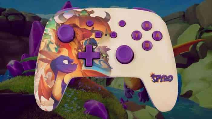 PowerA Enhanced Wireless Controller Spyro