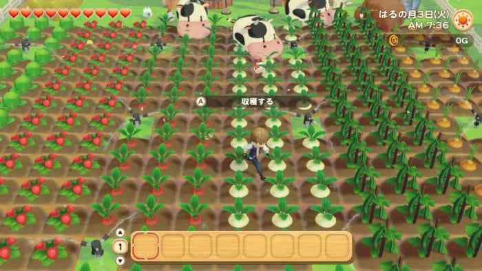 Story of Seasons Pioneers of Olive Town Farm