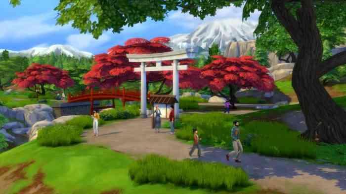 Sims 4: Snowy Escape
