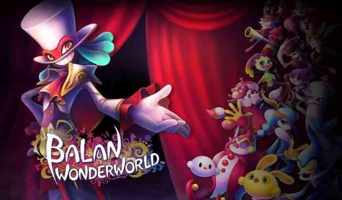 Promo art of Balan Wonderworld's characters.