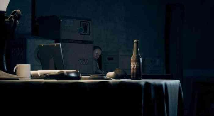 A screenshot of a dark, creepy shelf from Do Not Open.