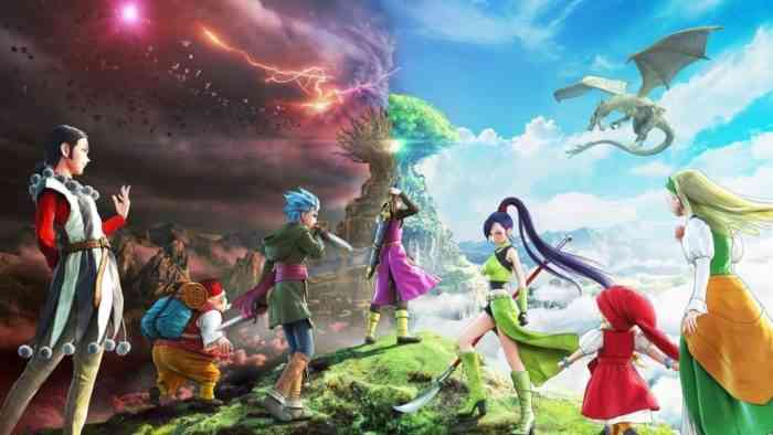 dragon quest xi s - definitive edition - top