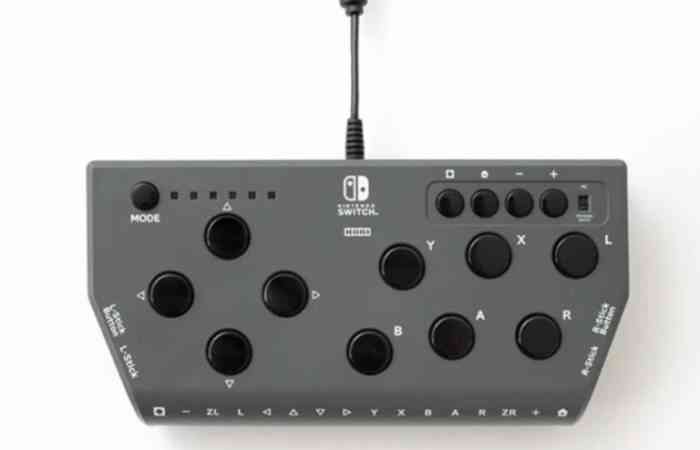 A picture of the accessibility controller HORI Flex.