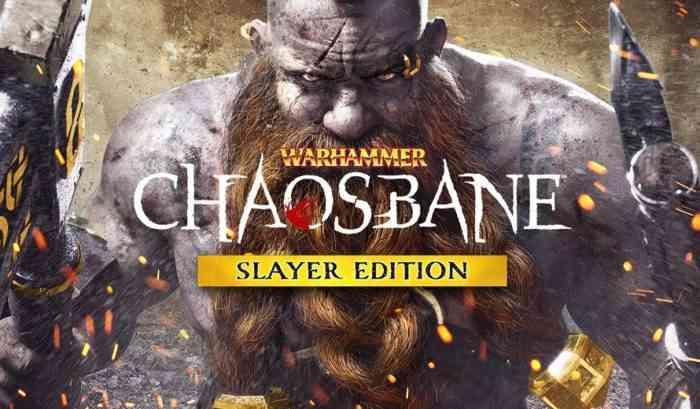 Warhammer Chaosbane promo banner.