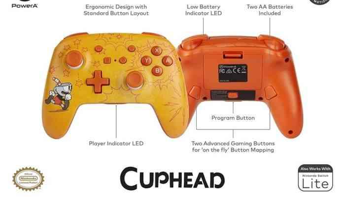 Cuphead Controller