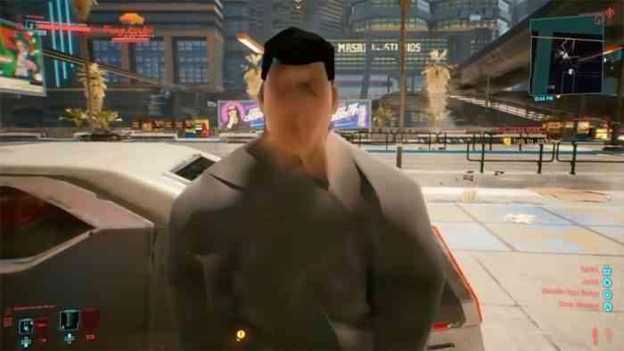 Cyberpunk glitch