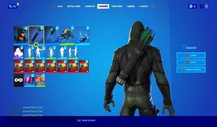 Green Arrow Skin Fortnite