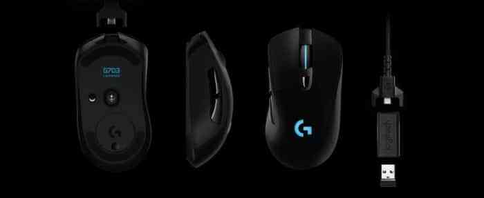 Logitech G703 gaming mouse