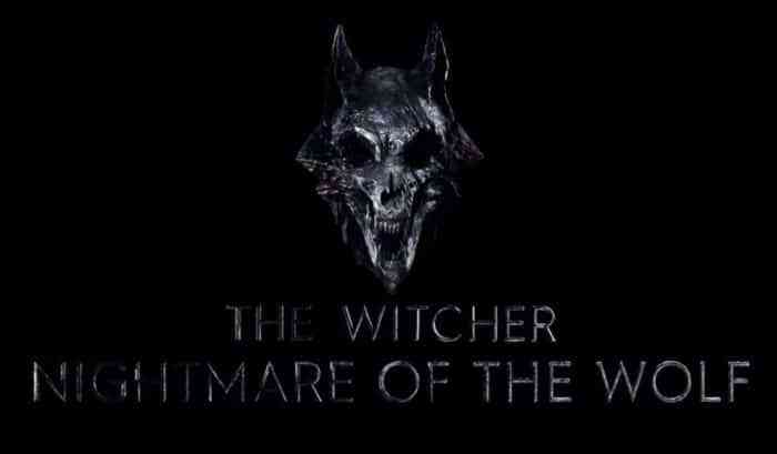 The Witcher: Nightmare of the Wolf Logo