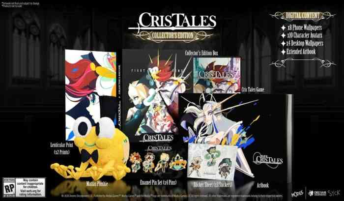 Cris Tales Collector's Edition