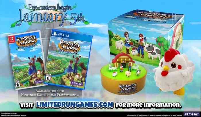 Harvest Moon: One World Collector's Edition