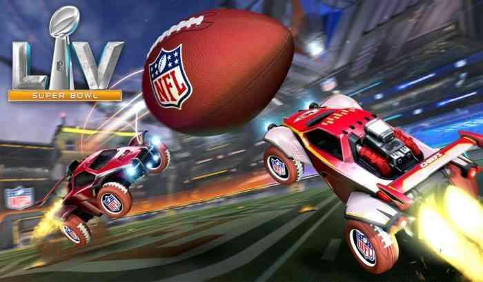 Rocket League Super Bowl LV