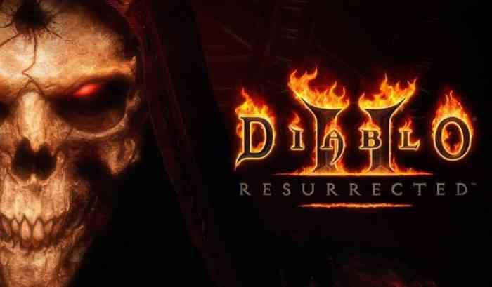 Diablo II Resurrected ad