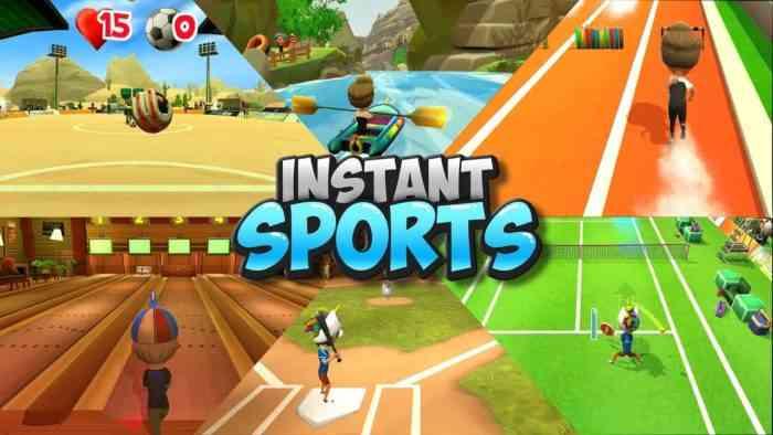 Instant Sports promo ad