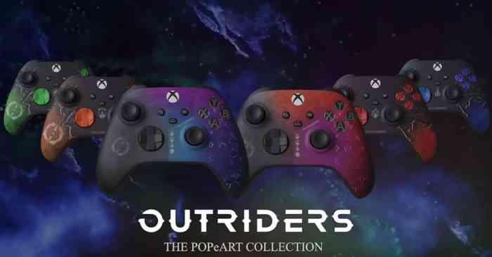 Outriders xbox controllers