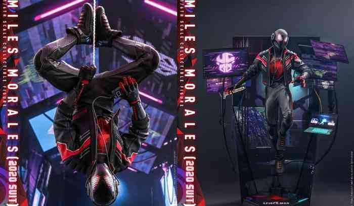 Spider-Man: Miles Morales Statue
